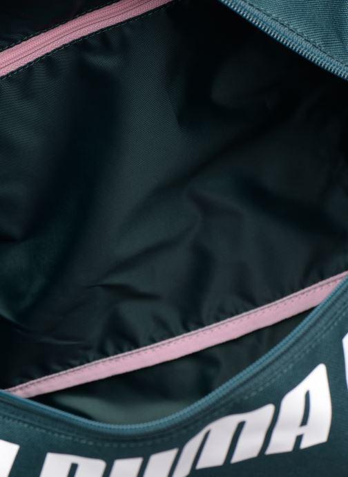 Sports bags Puma WMN CORE BARREL BAG S Green back view