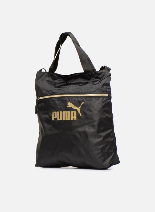 Bolsos de mano Puma WMN CORE SEA SHOPPER Negro vista del modelo