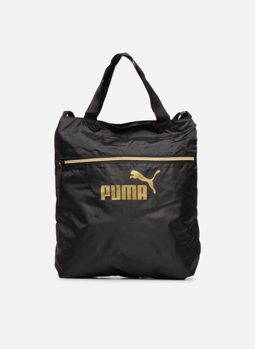 Bolsos de mano Puma WMN CORE SEA SHOPPER Negro vista de detalle / par