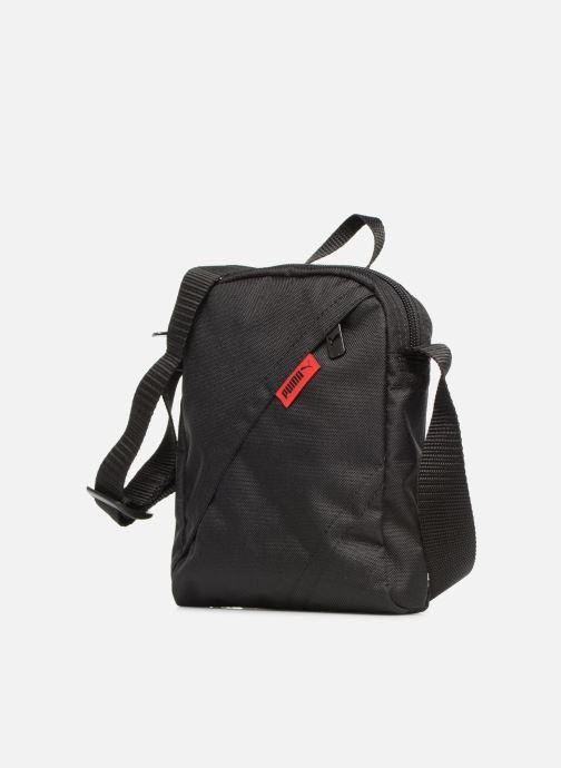 Herrentaschen Puma CITY PORTABLE II schwarz schuhe getragen