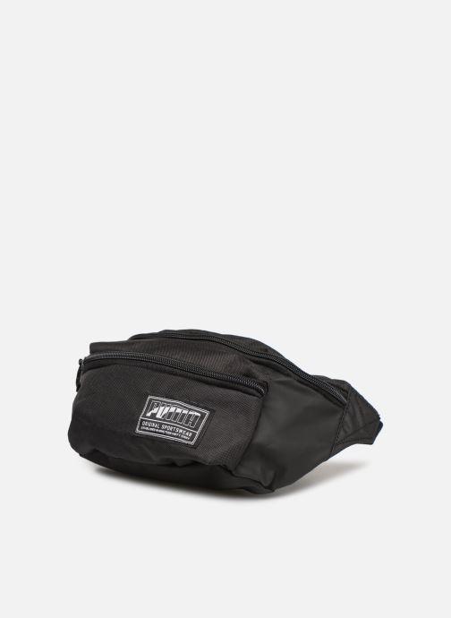 Petite Maroquinerie Puma ACADEMY WAIST BAG Noir vue portées chaussures