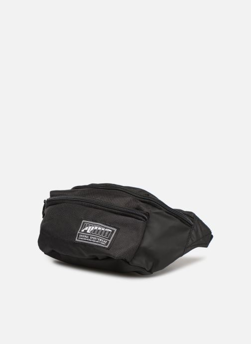 Borse Puma ACADEMY WAIST BAG Nero modello indossato