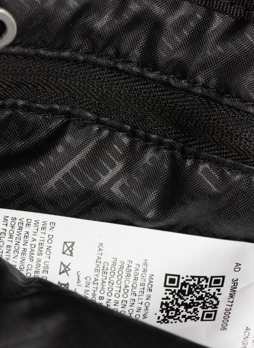 Men's bags Puma BMW  SMALL PORTABLE Black back view