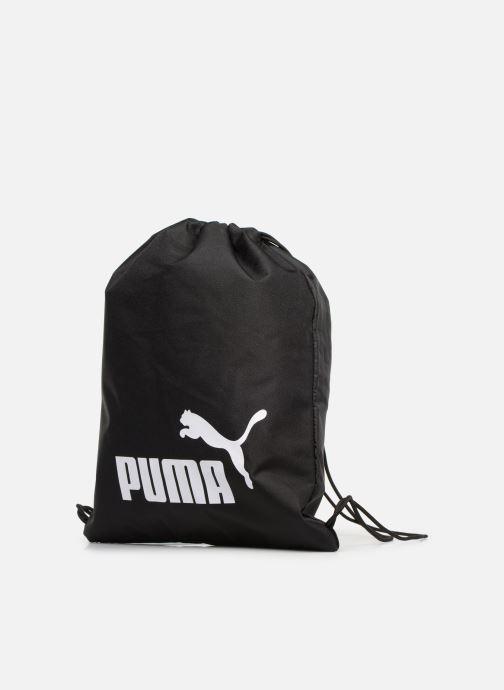 Bolsas de deporte Puma PHASE GYM SACK Negro vista del modelo