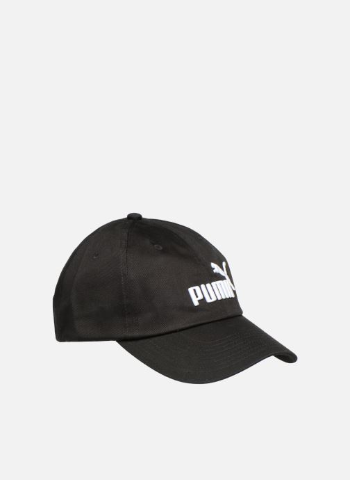 Casquettes Puma ESS NO 1 CAP Noir vue face