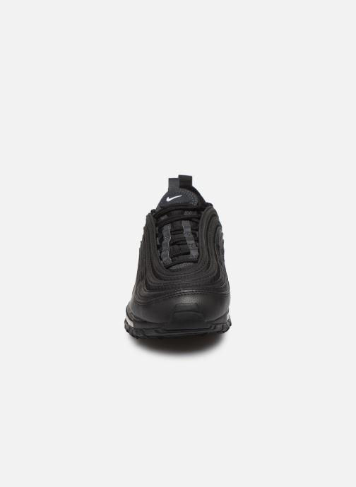 Sneakers Nike Nike Air Max 97 (Gs) Nero modello indossato