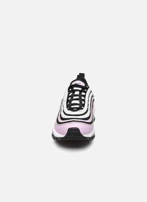 Baskets Nike Nike Air Max 97 (Gs) Rose vue portées chaussures
