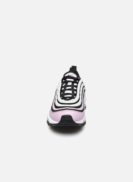 Sneakers Nike Nike Air Max 97 (Gs) Rosa modello indossato