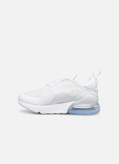 Sneaker Nike Nike Air Max 270 (Ps) weiß ansicht von vorne