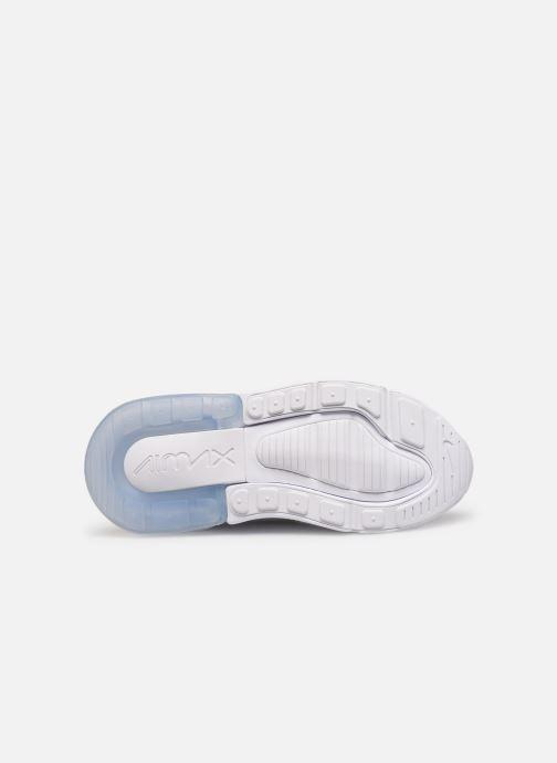 Baskets Nike Nike Air Max 270 (Ps) Blanc vue haut