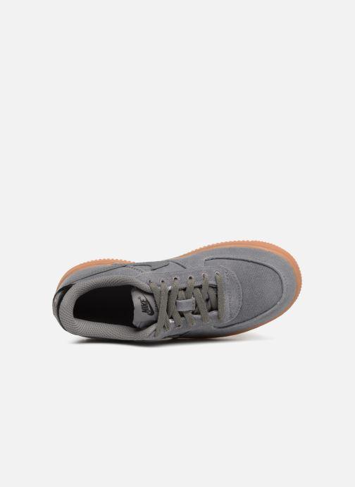 Baskets Nike Force 1 Lv8 Style (Ps) Marron vue gauche