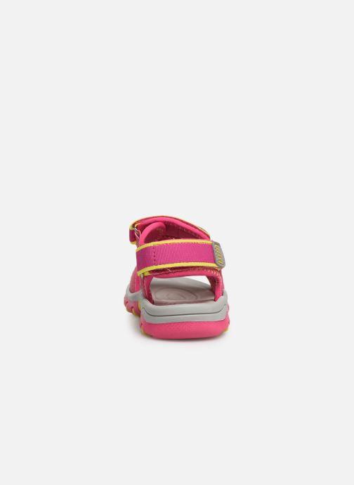 Sandales et nu-pieds I Love Shoes Survera Rose vue droite