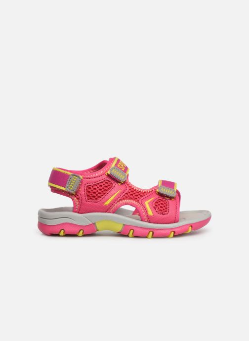 Sandales et nu-pieds I Love Shoes Survera Rose vue derrière