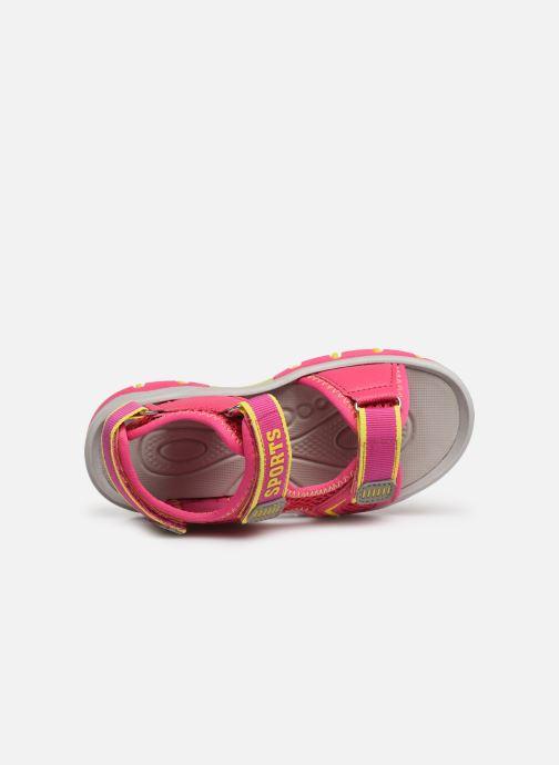 Sandales et nu-pieds I Love Shoes Survera Rose vue gauche