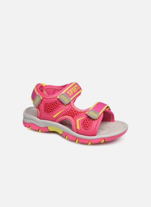 Sandales et nu-pieds I Love Shoes Survera Rose vue détail/paire
