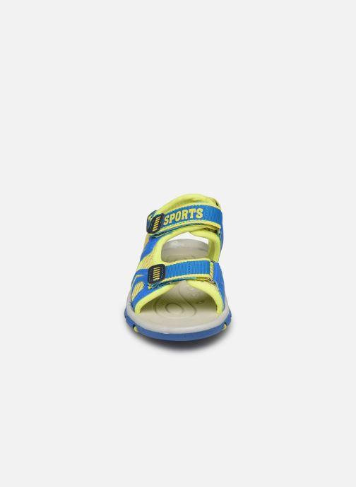 Sandali e scarpe aperte I Love Shoes Surelo Azzurro modello indossato