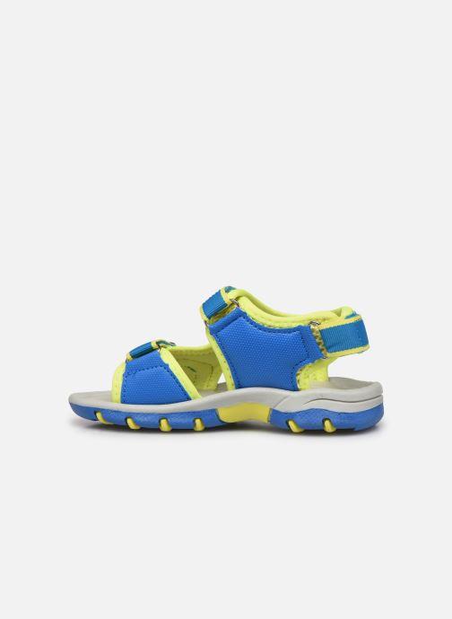 Sandales et nu-pieds I Love Shoes Surelo Bleu vue face