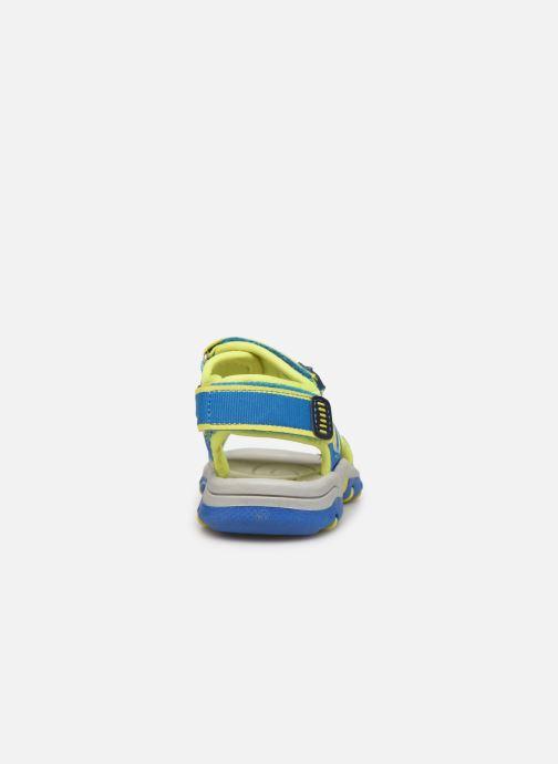 Sandales et nu-pieds I Love Shoes Surelo Bleu vue droite