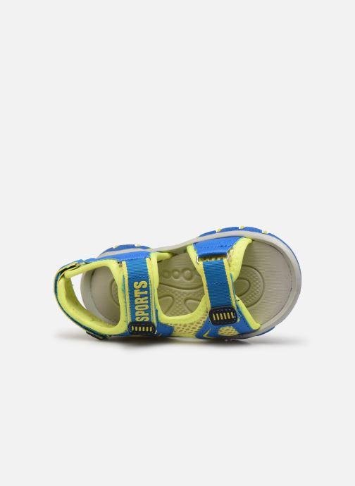 Sandalias I Love Shoes Surelo Azul vista lateral izquierda