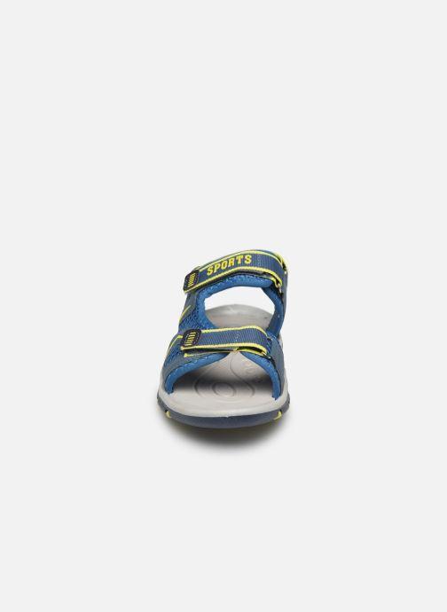 Sandales et nu-pieds I Love Shoes Survero Bleu vue portées chaussures