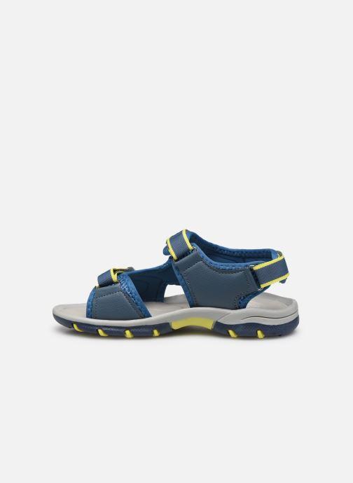Sandales et nu-pieds I Love Shoes Survero Bleu vue face