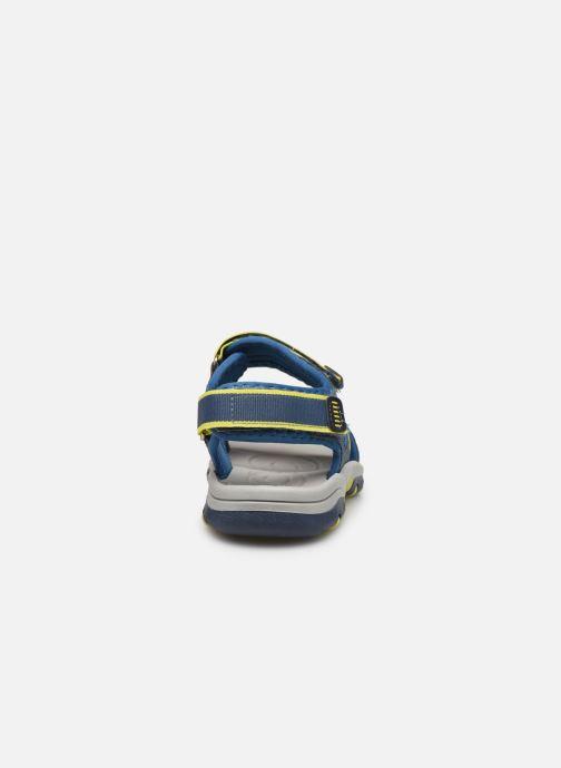 Sandales et nu-pieds I Love Shoes Survero Bleu vue droite