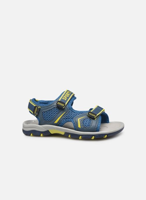 Sandalias I Love Shoes Survero Azul vistra trasera