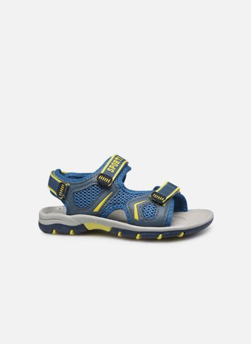 Sandalias I Love Shoes Survero Azul vistra trasera