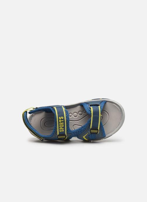 Sandales et nu-pieds I Love Shoes Survero Bleu vue gauche
