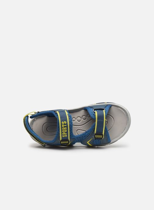 Sandalias I Love Shoes Survero Azul vista lateral izquierda