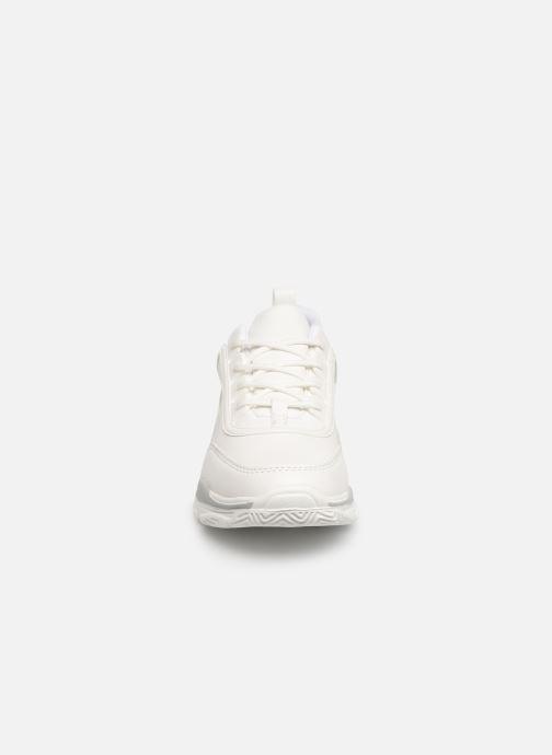Baskets I Love Shoes Subold Blanc vue portées chaussures