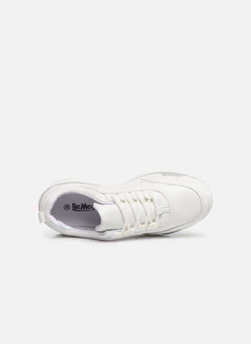 Baskets I Love Shoes Subold Blanc vue gauche