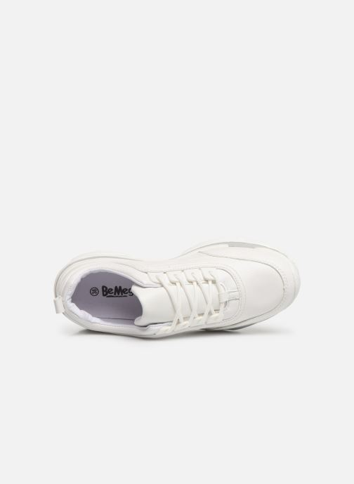 Deportivas I Love Shoes Subold Blanco vista lateral izquierda