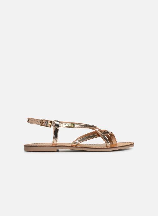 Sandales et nu-pieds Les Tropéziennes par M Belarbi Chouette Or et bronze vue derrière