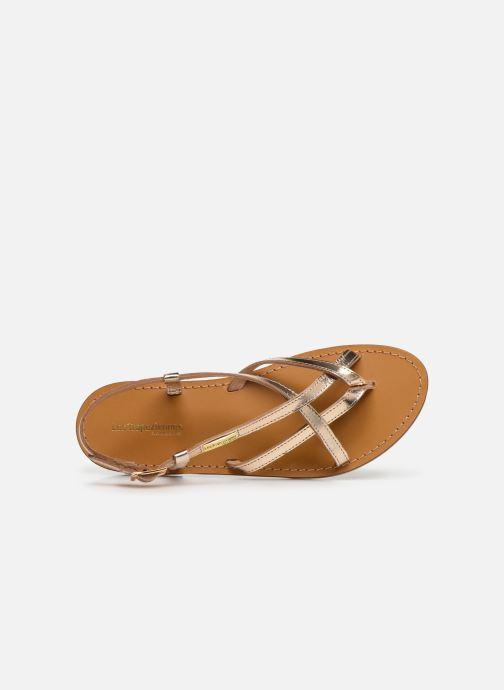 Sandales et nu-pieds Les Tropéziennes par M Belarbi Chouette Or et bronze vue gauche