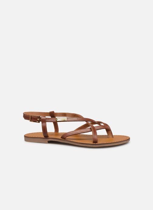 Sandales et nu-pieds Les Tropéziennes par M Belarbi Chouette Marron vue derrière