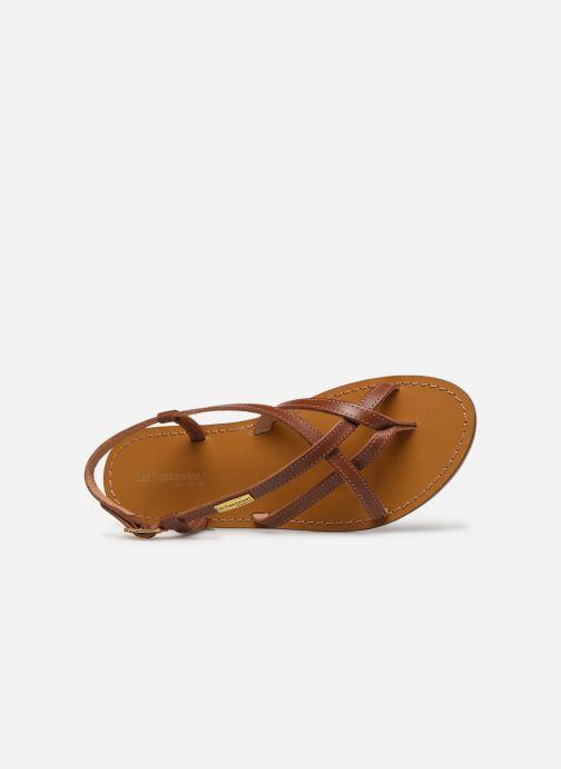 Sandales et nu-pieds Les Tropéziennes par M Belarbi Chouette Marron vue gauche