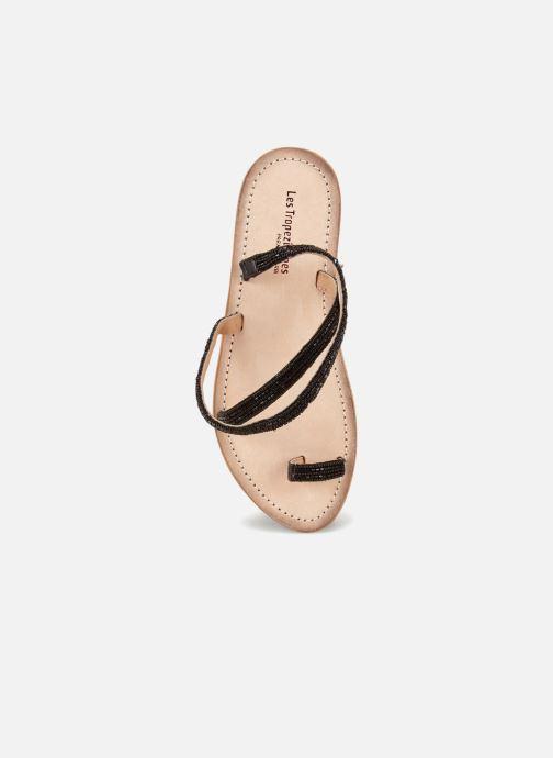 Sandals Les Tropéziennes par M Belarbi Orfee Black view from the left