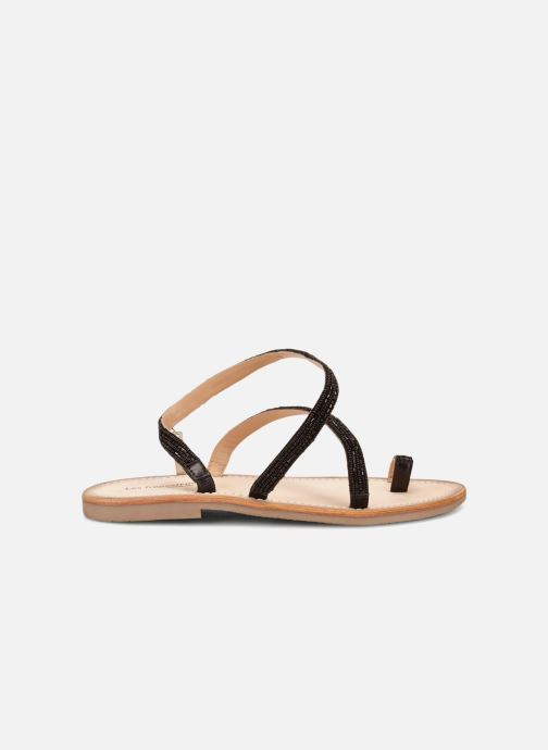 Sandals Les Tropéziennes par M Belarbi Orfee Black detailed view/ Pair view