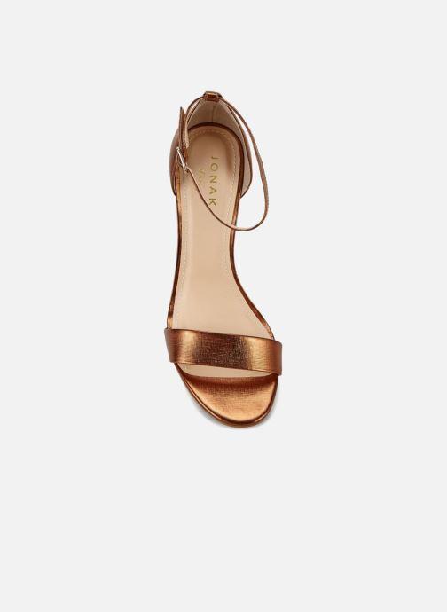 Bronze pieds Nu Chez Jonak 1388133 or Et Sandales q6wS4O1t