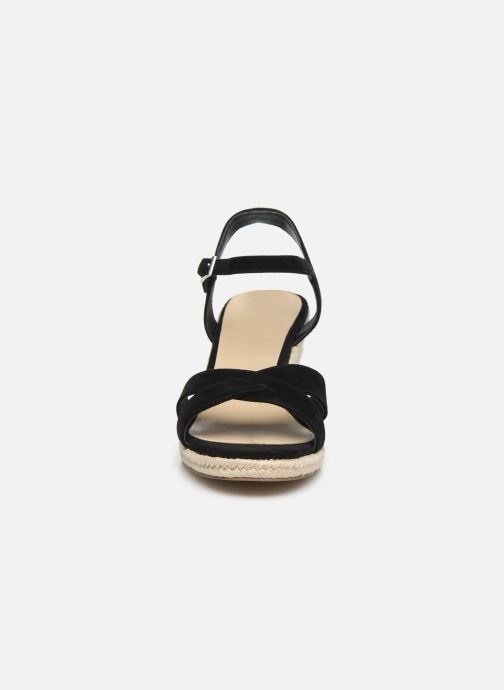 Espadrilles Jonak 723Xx Noir vue portées chaussures