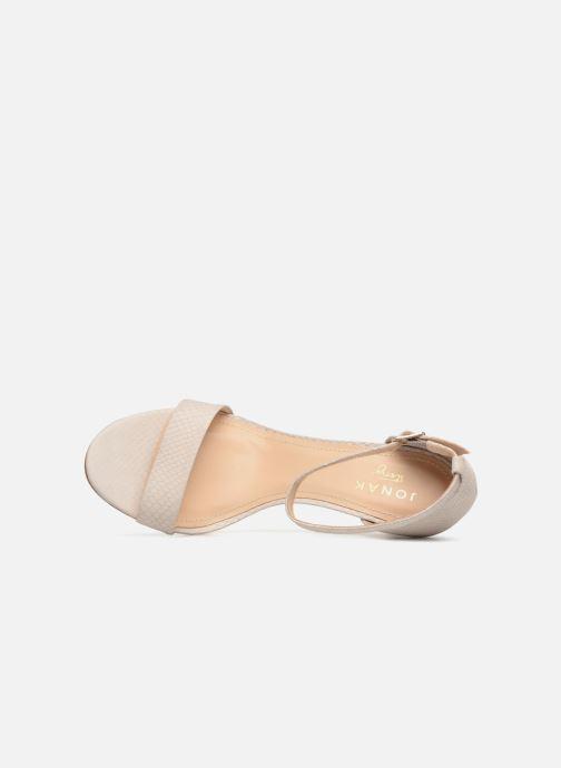 Jonak pieds Tomi blanc Nu Sandales Et Chez 4wz4qrZB