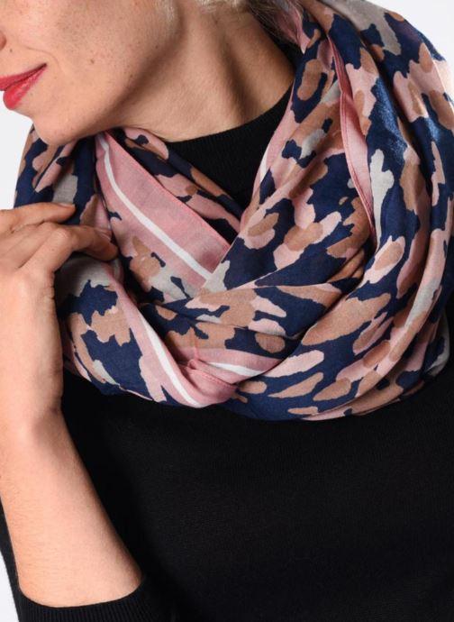 Sjaal Pieces 17085200 Multicolor boven
