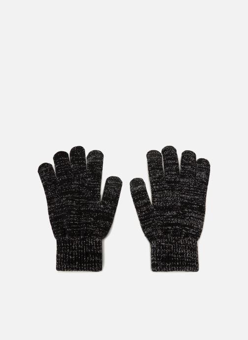 Handskar Pieces 17085313 Svart detaljerad bild på paret