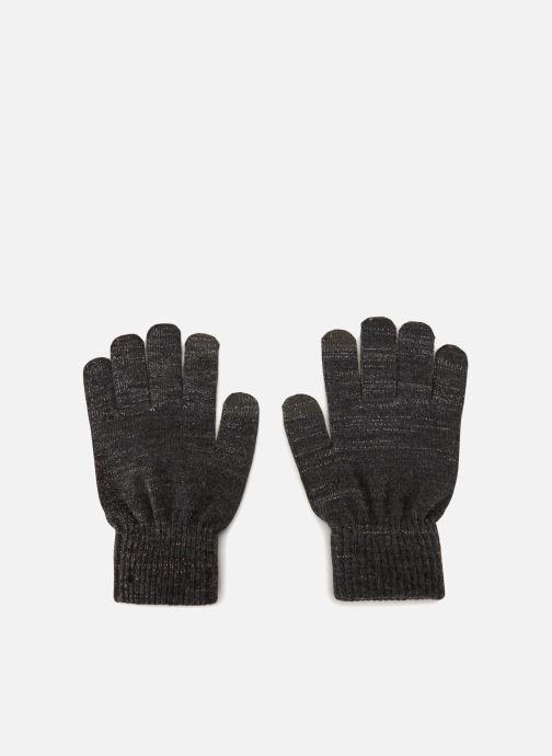 Handschoenen Pieces 17085313 Grijs detail