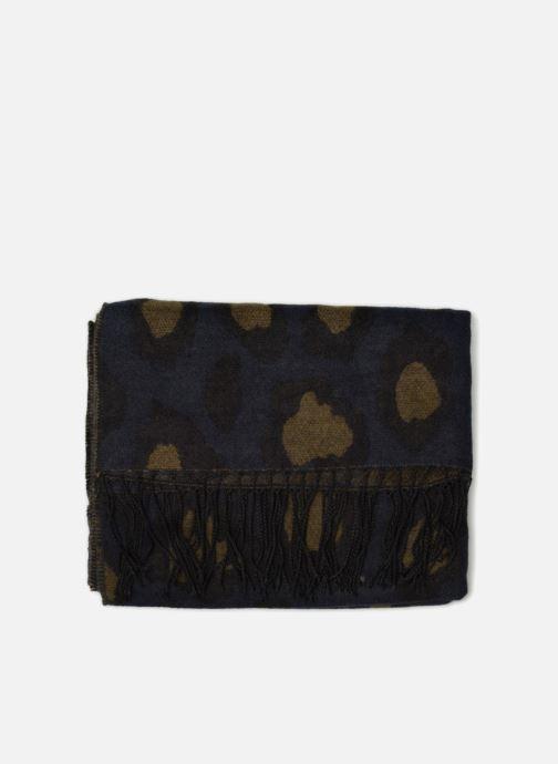Echarpes et Foulards Pieces 17085587 Bleu vue portées chaussures