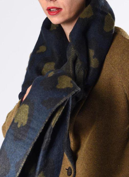 Sciarpa y foulard Pieces 17085587 Azzurro immagine dall'alto