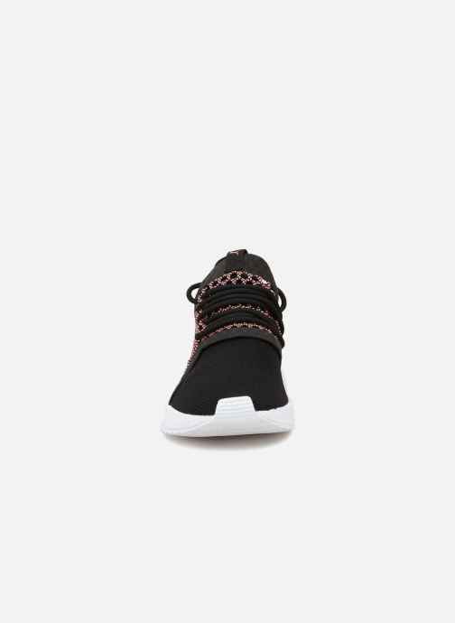 Sneaker Puma Tsugi netfit V2 W schwarz schuhe getragen