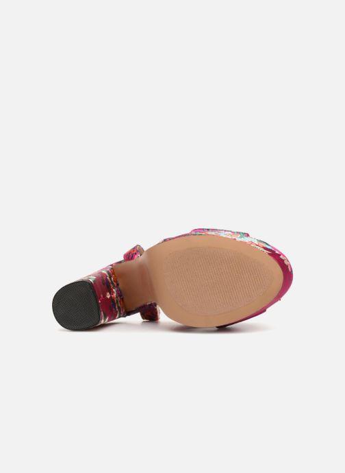 Sandales et nu-pieds Steve Madden Jodi Multicolore vue haut