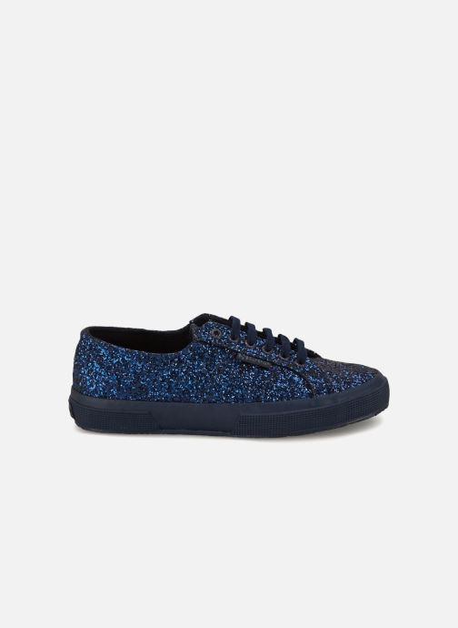Sneakers Superga 2750 Macroglitterw Blauw achterkant